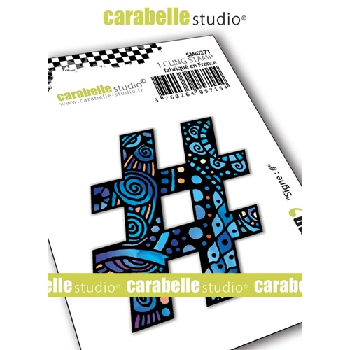 Carabelle Studio SYMBOL # Cling Stamp smi0271 Preview Image