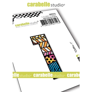 Carabelle Studio NUMBER 1 Cling Stamp smi0274