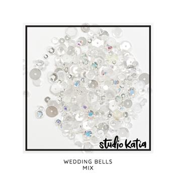 Studio Katia WEDDING BELLS Embellishment Mix sk2896