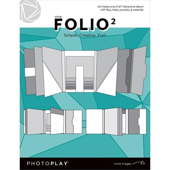 PhotoPlay WHITE FOLIO 2 Maker's Series ppp2156