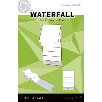 PhotoPlay 4 x 4 MECHANICAL WHITE WATERFALL Maker's Series ppp2160