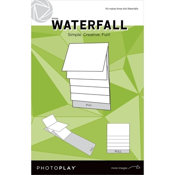 PhotoPlay 4 x 6 MECHANICAL WHITE WATERFALL Maker's Series ppp2161