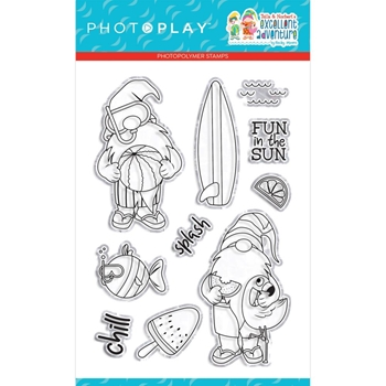 PhotoPlay TULLA AND NORBERT EXCELLENT ADVENTURE Clear Stamps tea2177
