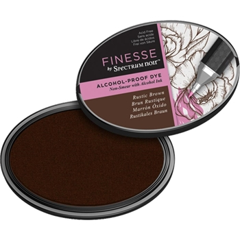 Spectrum Noir RUSTIC BROWN Finesse Alcohol Proof Ink Pad