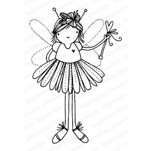Impression Obsession Cling Stamp FAIRY MAGIC E12168 Preview Image