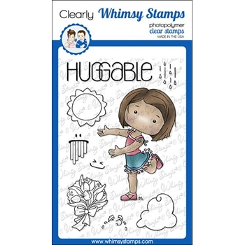 Whimsy Stamps POLKA DOT PALS ATLAS Clear Stamps BS1008