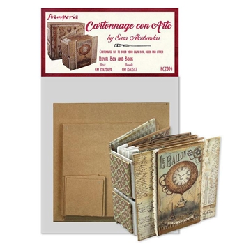 Stamperia ROYAL BOX AND BOOK Cartonnage kcs004