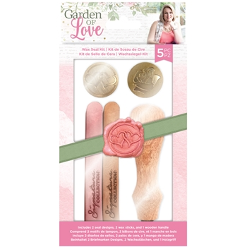 Crafter's Companion GARDEN OF LOVE Wax Seal Kit sgolwaxkit