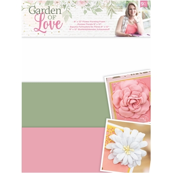 Crafter's Companion GARDEN OF LOVE Flower Forming Foam sgolfoamfl