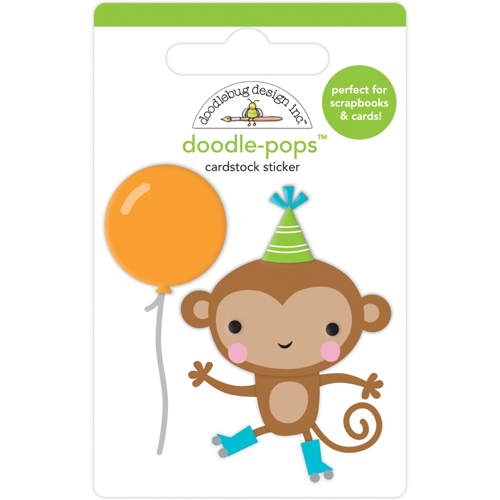 Doodlebug: Monkey Business 3D Doodle Pop Sticker