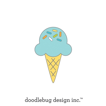 Doodlebug SUGAR CONE Collectable Enamel Pin 6655