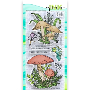 Miss Ink Stamps SMOKIN' CATERPILLARS Clear Set 320st02