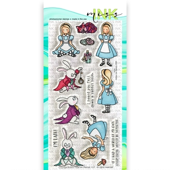 Miss Ink Stamps ALICE Clear Set 320st04