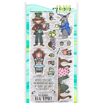 Miss Ink Stamps TEA PARTY Clear Set 320st05