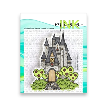 Miss Ink Stamps QUEEN'S CASTLE Clear Set 320st07