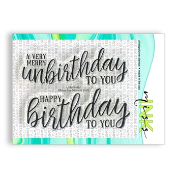 Miss Ink Stamps UNBIRTHDAY Clear Set 320st012