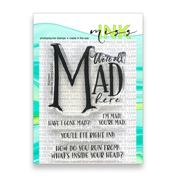 Miss Ink Stamps MADNESS Clear Set 320st013
