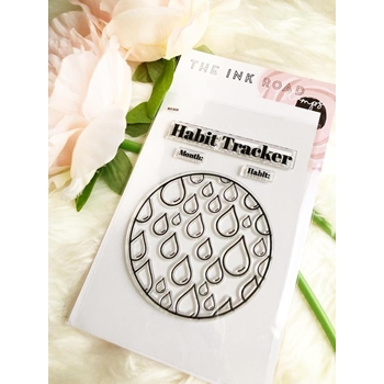 The Ink Road HABIT TRACKER WATER Clear Stamp Set inkr147