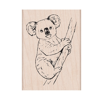 Hero Arts Rubber Stamp KOALA ON BRANCH H6431