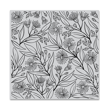 Hero Arts Cling Stamp EUCALYPTUS Bold Prints CG809