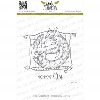 Lesia Zgharda MOMMY'S KITTEN Clear Stamps fa154