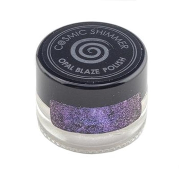 Cosmic Shimmer SAPPHIRE GRAPE Opal Blaze Polish csobpgrape