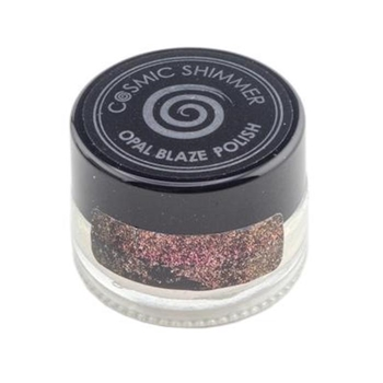 Cosmic Shimmer SUNSET ORANGE Opal Blaze Polish csobpsun
