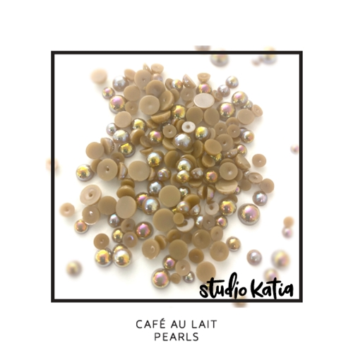 Studio Katia CAFE AU LAIT Pearls sk1122 Preview Image