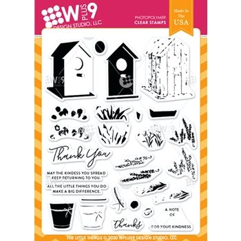 Wplus9 THE LITTLE THINGS Clear Stamps clwp9tll