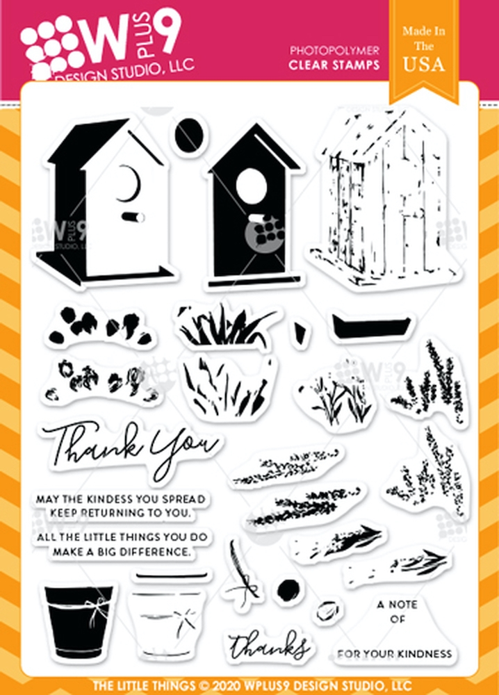 Wplus9 THE LITTLE THINGS Clear Stamps clwp9tll zoom image