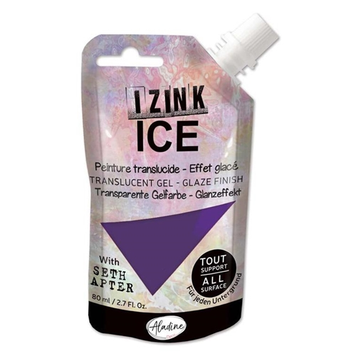 Aladine IZINK ICE ARCTIC GRAPE Glaze Finish 80374 Preview Image
