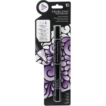 Spectrum Noir DUSTY PURPLE BLEND TriBlend Marker sntbledpbl