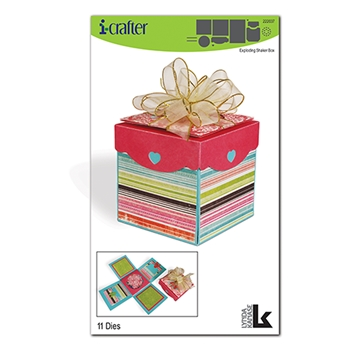 i-Crafter EXPLOSION SHAKER BOX Dies 222037