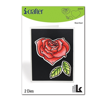 i-Crafter ROSE HEART Dies 222039