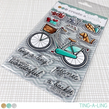 Create A Smile TING-A-LING Clear Stamps clcs139