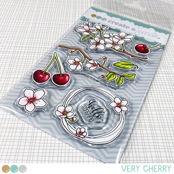 Create A Smile VERY CHERRY Clear Stamps clcs140