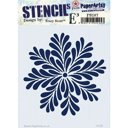 Paper Artsy ECLECTICA3 TRACY SCOTT Stencil ps187 Preview Image