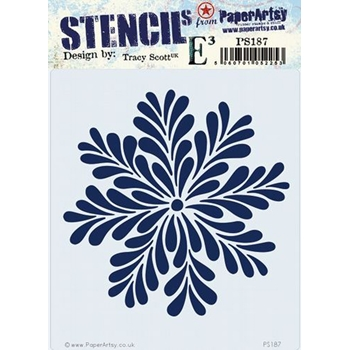 Paper Artsy ECLECTICA3 TRACY SCOTT Stencil ps187