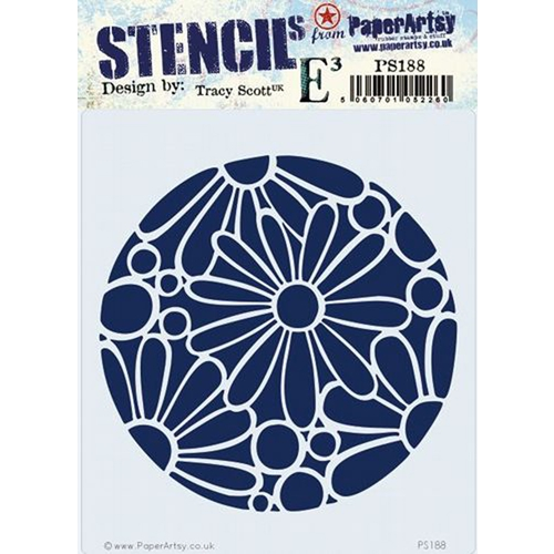Paper Artsy ECLECTICA3 TRACY SCOTT Stencil ps188 Preview Image