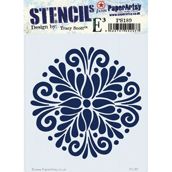 Paper Artsy ECLECTICA3 TRACY SCOTT Stencil ps189