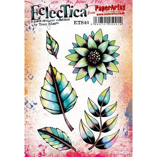 Paper Artsy ECLECTICA3 TRACY SCOTT 40 Cling Stamps ets40 Preview Image