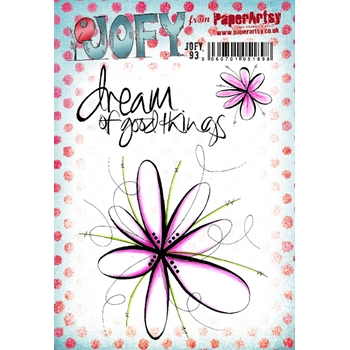 Paper Artsy JOFY 93 Cling Stamps jofy93