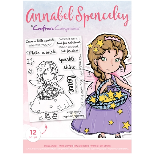 Crafter's Companion MAKE A WISH Clear Stamp Set asstpmakeaw Preview Image