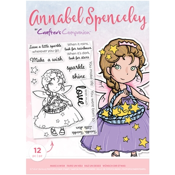 Crafter's Companion MAKE A WISH Clear Stamp Set asstpmakeaw