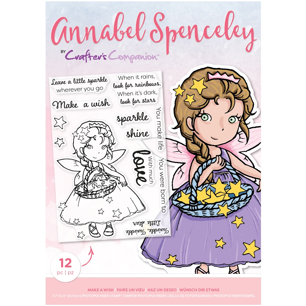 Crafter's Companion MAKE A WISH Clear Stamp Set asstpmakeaw zoom image