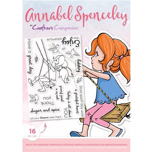 Crafter's Companion ENJOY THE ADVENTURE Clear Stamp Set asstpenjota Preview Image