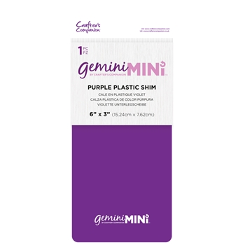 Gemini 3 X 6 MINI PURPLE PLASTIC SHIM gemminiaccplas