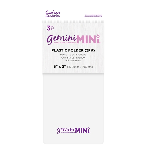 Gemini 3 X 6 PLASTIC FOLDER 3 PACK gemminiaccfold Preview Image