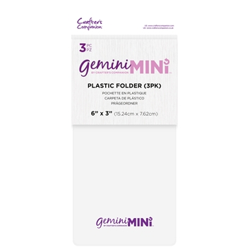 Gemini 3 X 6 PLASTIC FOLDER 3 PACK gemminiaccfold