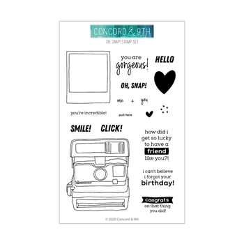 RESERVE Concord & 9th OH, SNAP! Clear Stamp Set 10793